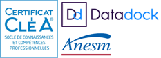 Certifications Coherences : Certificat Cléa, Datadoc, Anesm, IS OPQF